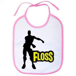 Babero Floss - Rosa