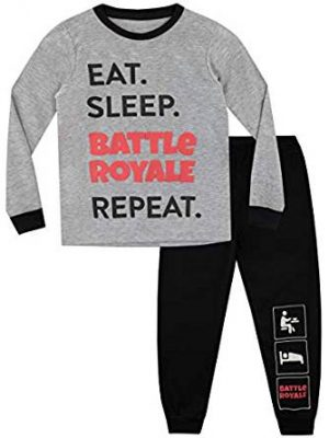 Battle Royale Pijama para Niños Gaming