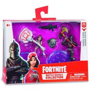 Blister duro Fortnite 2 figuras 7 cm y 1 accesorio