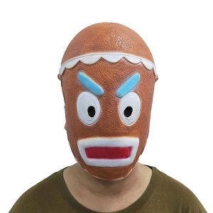 Cookie Warrior Máscara de Cookie Guerrero latex