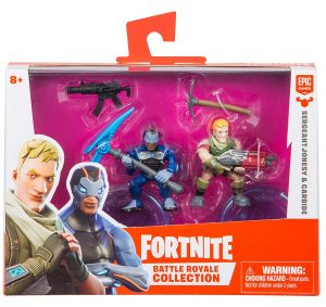 Duo pack Fortnite - Carbide & Sargent Jonesy