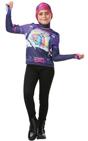 Fortnite - Disfraz Brite Bomber para niño, camiseta, 11-12 años