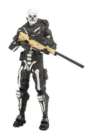 Fortnite- Figura articulada Skull Trooper,, estándar