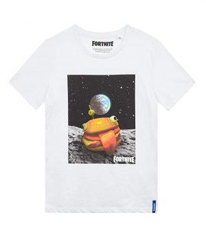 Fortnite Hamburguesa En la Launa Camiseta