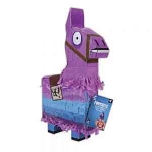 Fortnite La La piñata de la Llama Color Rosa NegroTalla única