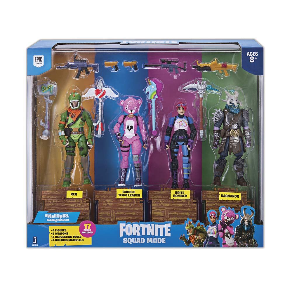 Fortnite Pack 4 Figuras coleccionables
