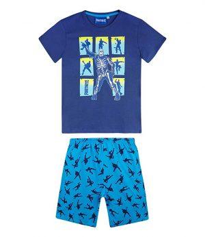 Fortnite Pijama para Niños Azul