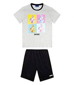 Fortnite Pijama para Niños blanco