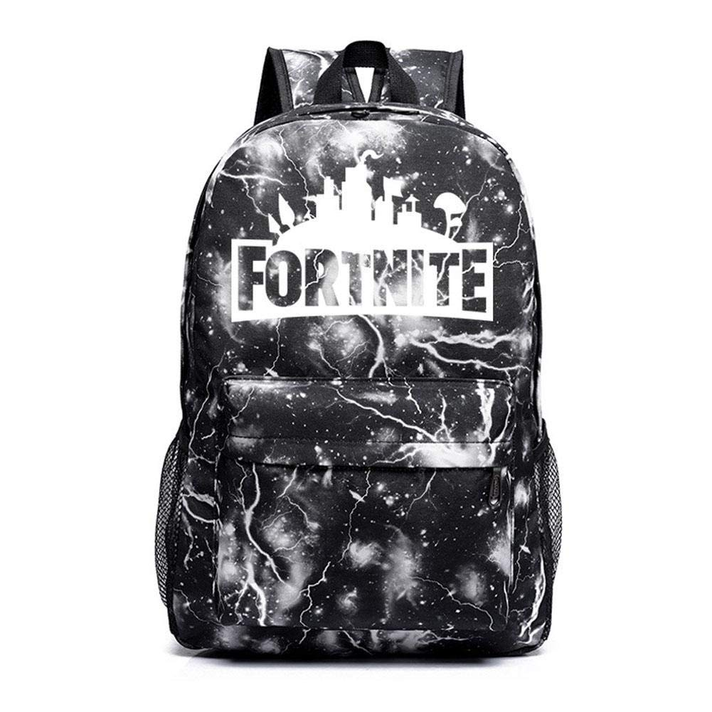 Mochila escolar Fortnite negro