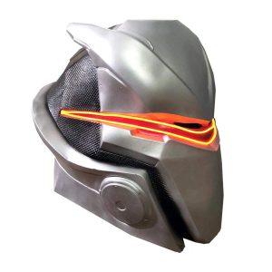 Omega casco con mascara led