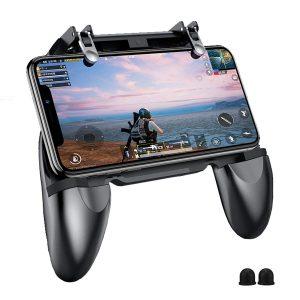 PUBG Mobile Game Controller - BESTZY Controlador Móvil Gamepad Joystick Soporte para teléfono, Puntería y Disparo Altamente Sensibles para PUBG - Fortnite