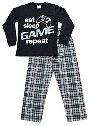Pijama Eat Game Sleep Descansa Como Rey