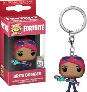 Pocket Pop Fortnite Llavero de Vinilo con Anilla Brite Bomber