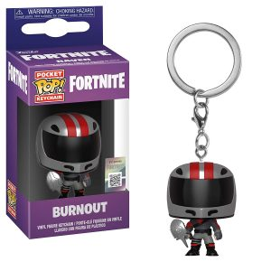 Pocket Pop Fortnite Llavero de Vinilo con Anilla Burnout