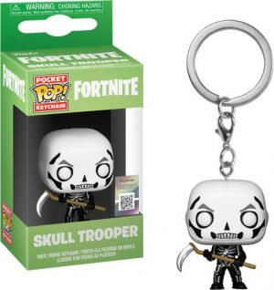 Pocket Pop Fortnite Llavero de Vinilo con Anilla Skull Trooper