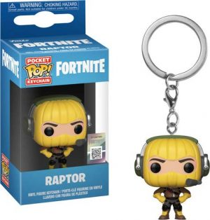 Pocket Pop - Llavero diseño de Fortnite Raptor
