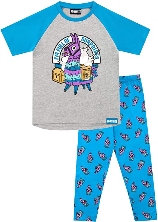 pijama fortnite divertido llama rosa